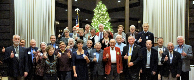 Rotarians (Photo by Steve LaRoche)