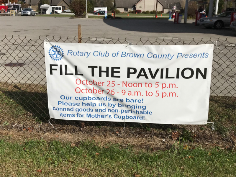 Fill the Pavilion