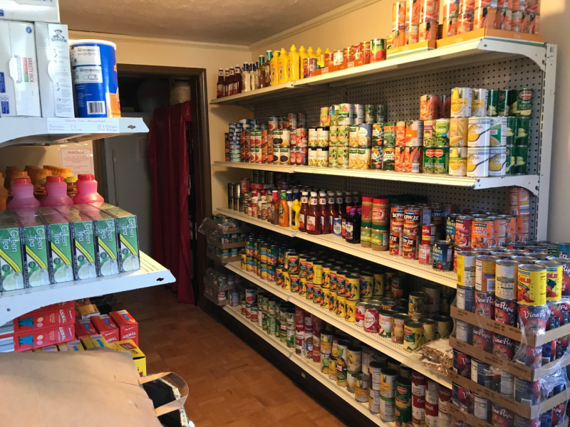 Salvation Army Filled Shelves